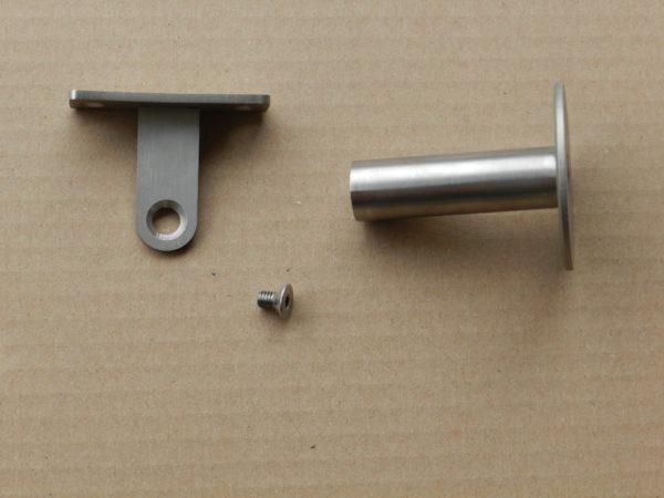 Leuninghouder type 730 verstelbaar in onderdelen.