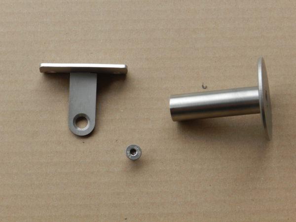 Leuning houder - Type 740 delen