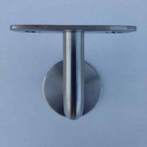 Leuninghouder type 130 - RVS A2 - vooraanzicht