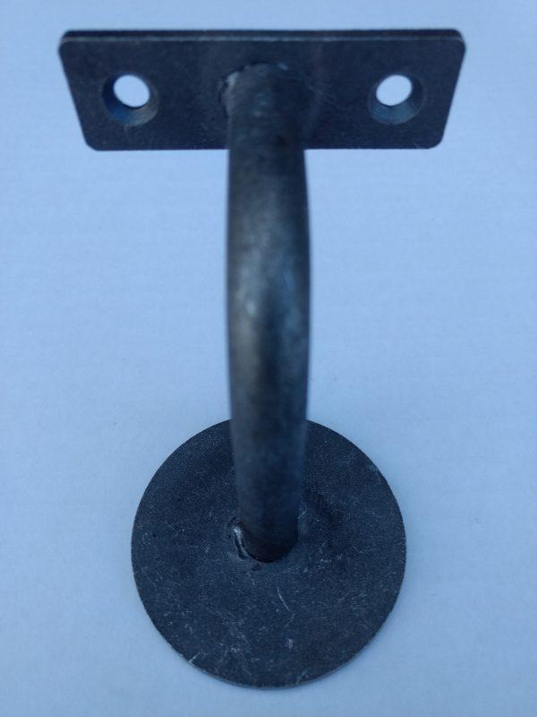 Leuninghouder type 130 - onbehandeld ijzer - onderaanzicht