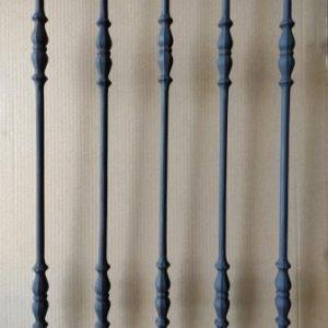 Impressiefoto spijl type 02 mat zwart