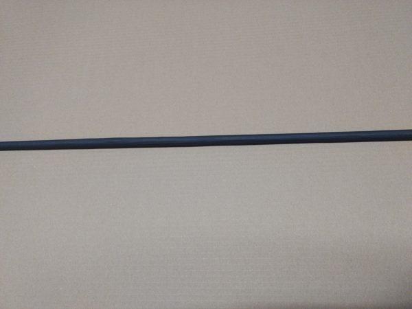 mat zwarte spijl 12 mm
