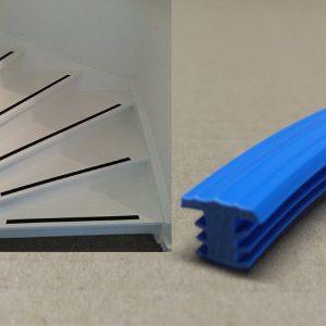 Trap antislip blauw