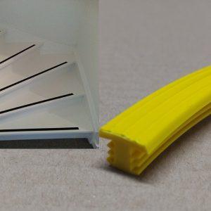 Trap antislip geel