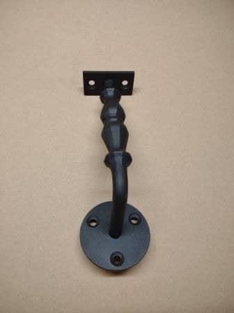 Leuninghouder type 01 - 3 gatsbevestiging vooraanzicht