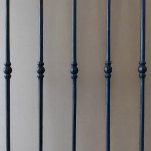 T12 poedercoat mat zwart